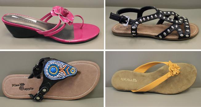 Que-des-marques-sandales-plates