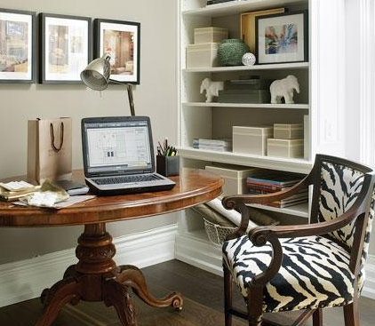 Cocooning dans le sud notre sous sol blogue for How to decorate home office