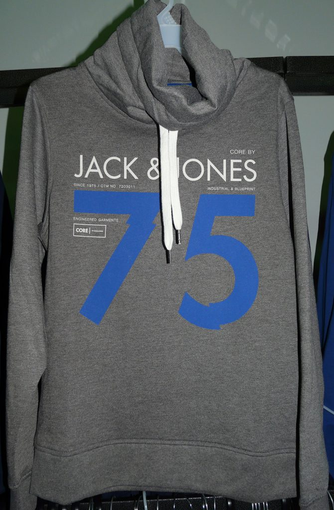 Coton ouaté Jack & Jones - 30$