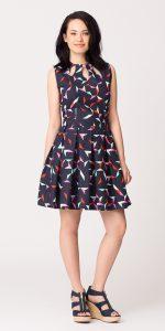 Origami Pleat Dress