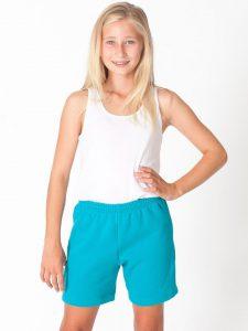Short de Jogging pour les 8-12 ans en Molleton Flex