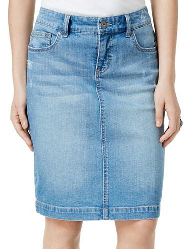 Jupe denim STYLE AND CO. en solde à 39,50$ (rég. 79$)