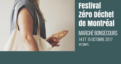 Le Festival Zéro Déchet de Montréal – Une première édition!