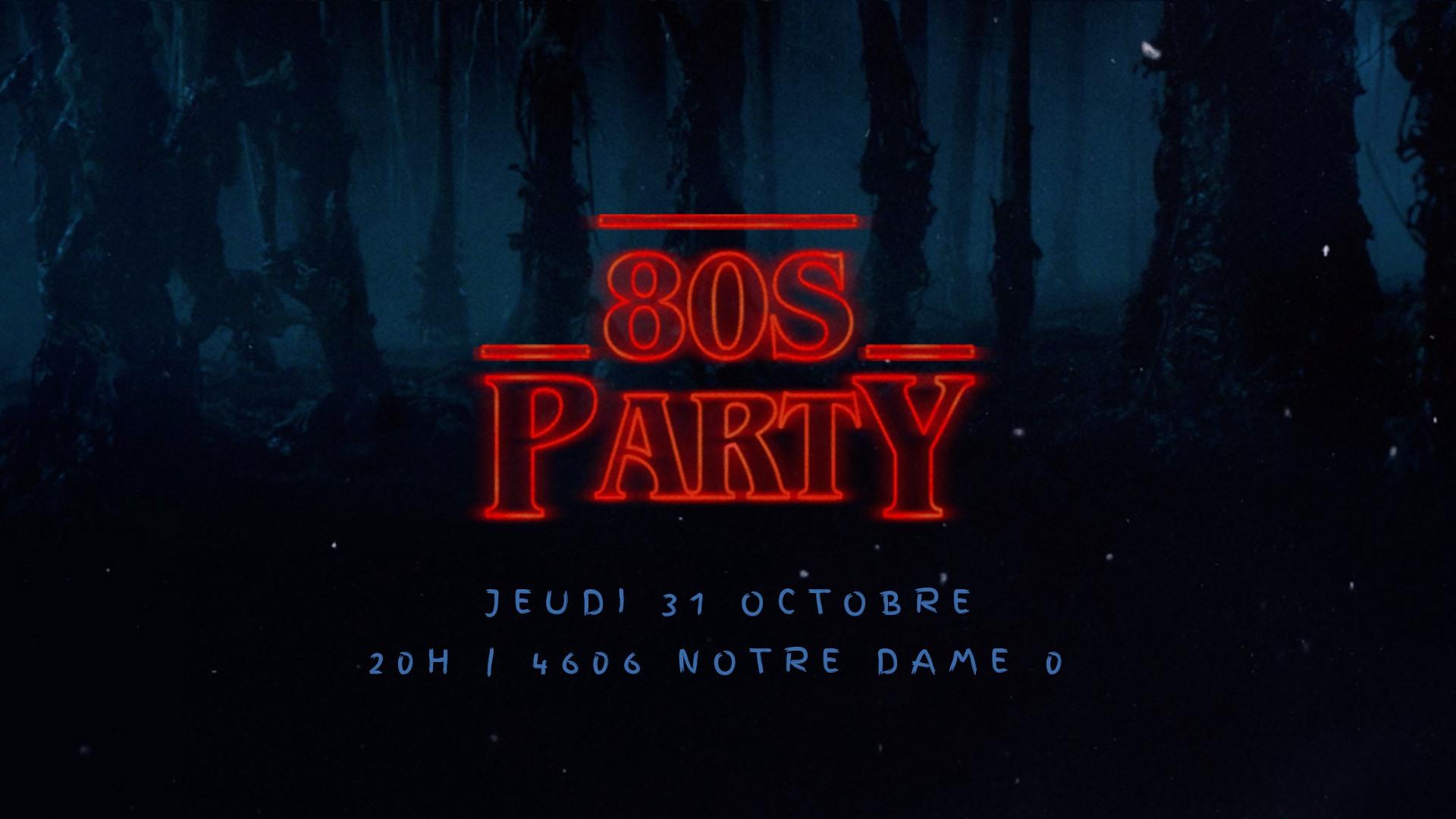 affiche party