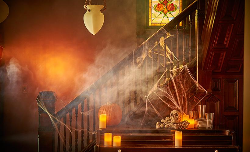 décor d'halloween