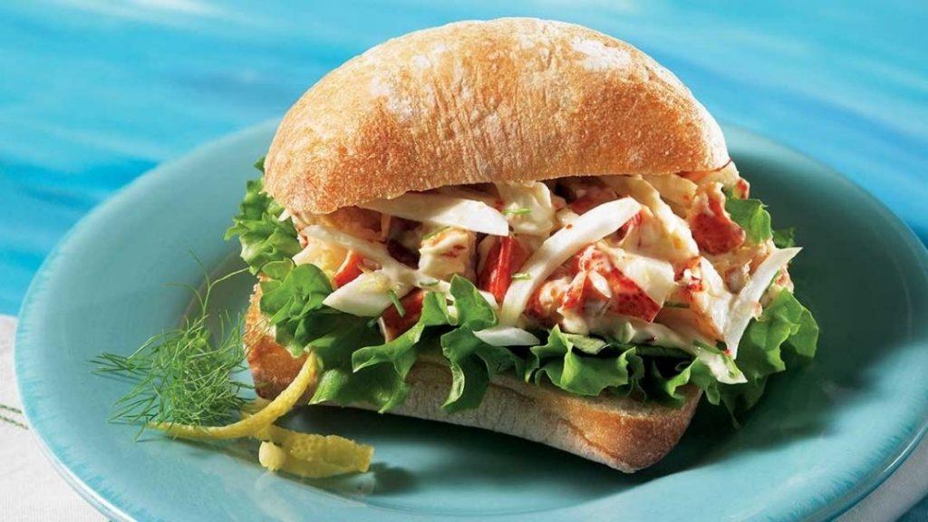 ciabattas de homard
