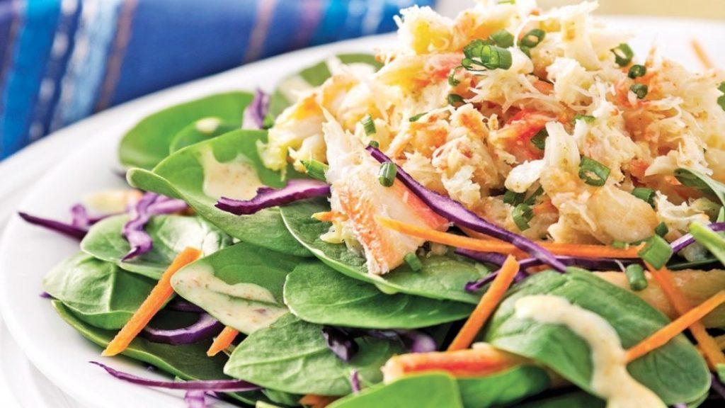 Salade de crabe